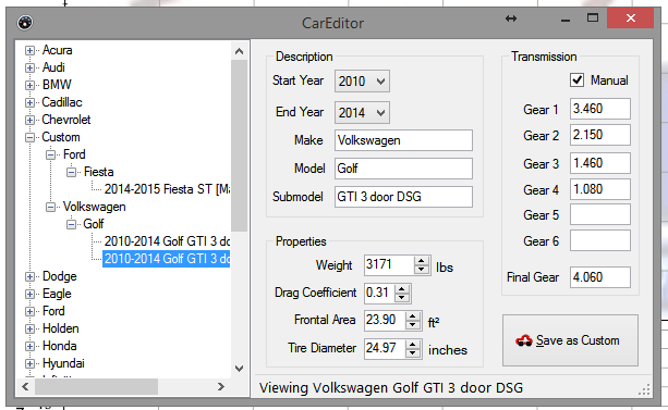 Blog : How to Setup and Use Virtual Dyno for your VW GTI